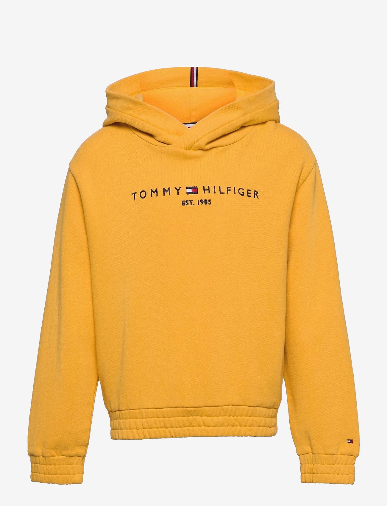 Tommy Hilfiger - ESSENTIAL  HOODIE - hoodies - midway yellow - 0
