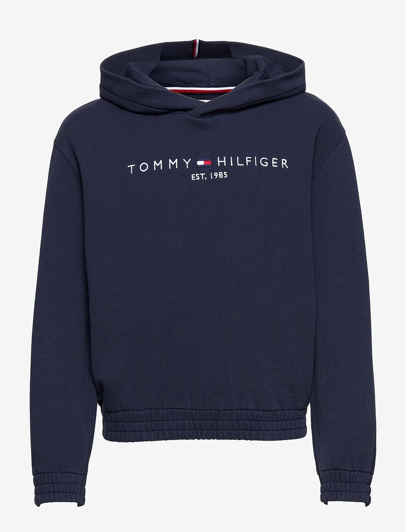 Tommy Hilfiger - ESSENTIAL  HOODIE - hoodies - twilight navy - 0
