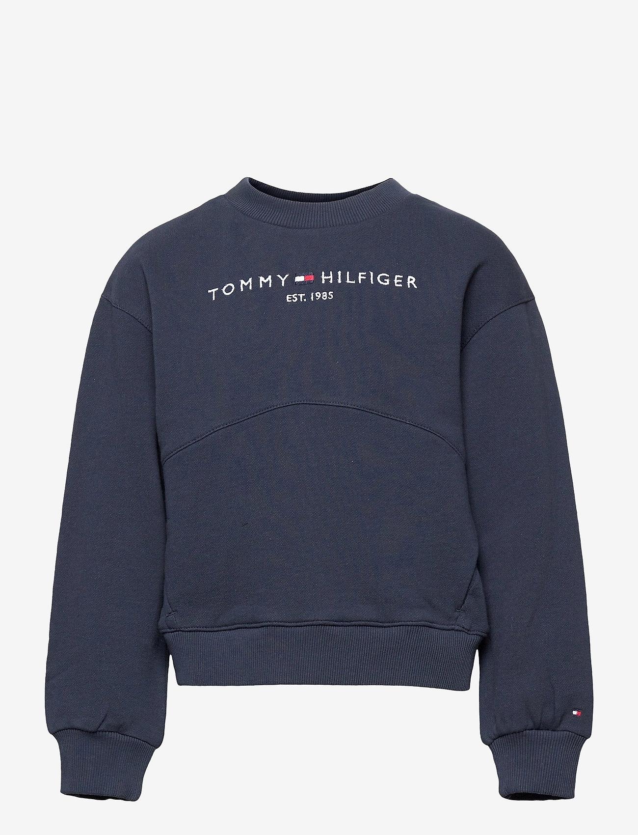 Tommy Hilfiger - ESSENTIAL SWEATSHIRT - sweatshirts - twilight navy - 0