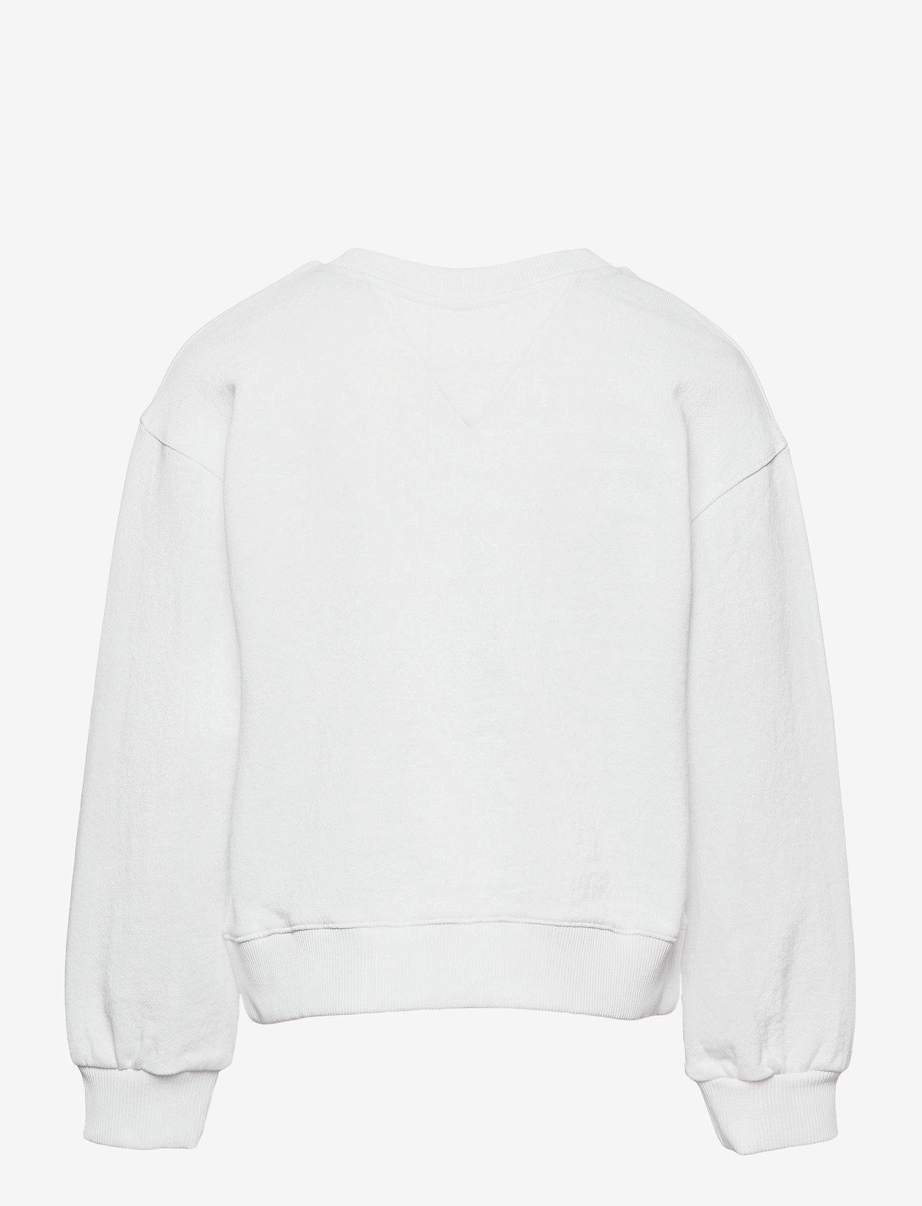Tommy Hilfiger - ESSENTIAL SWEATSHIRT - sweatshirts - white - 1