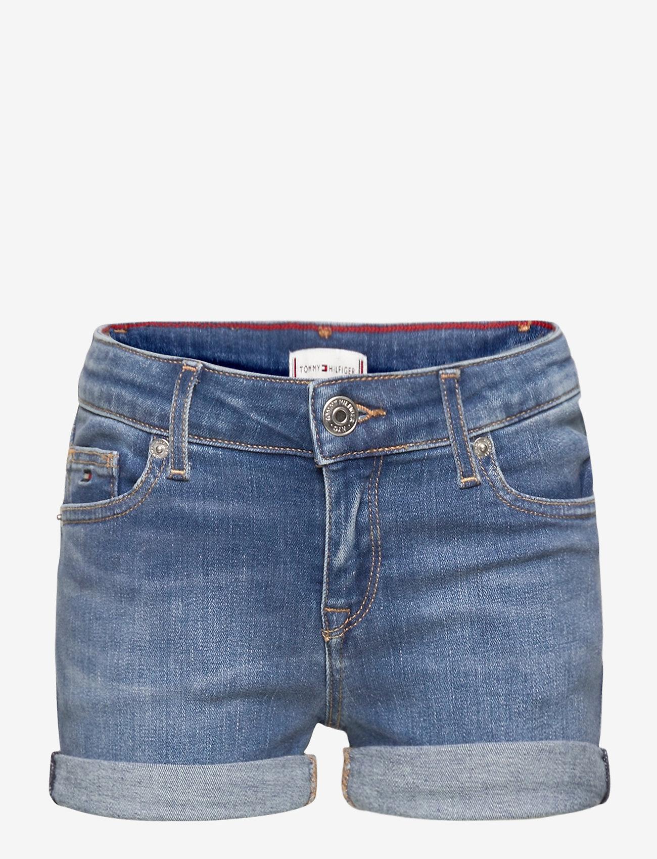 Tommy Hilfiger - NORA BASIC SHORT - shorts - summermedbluestretch - 0