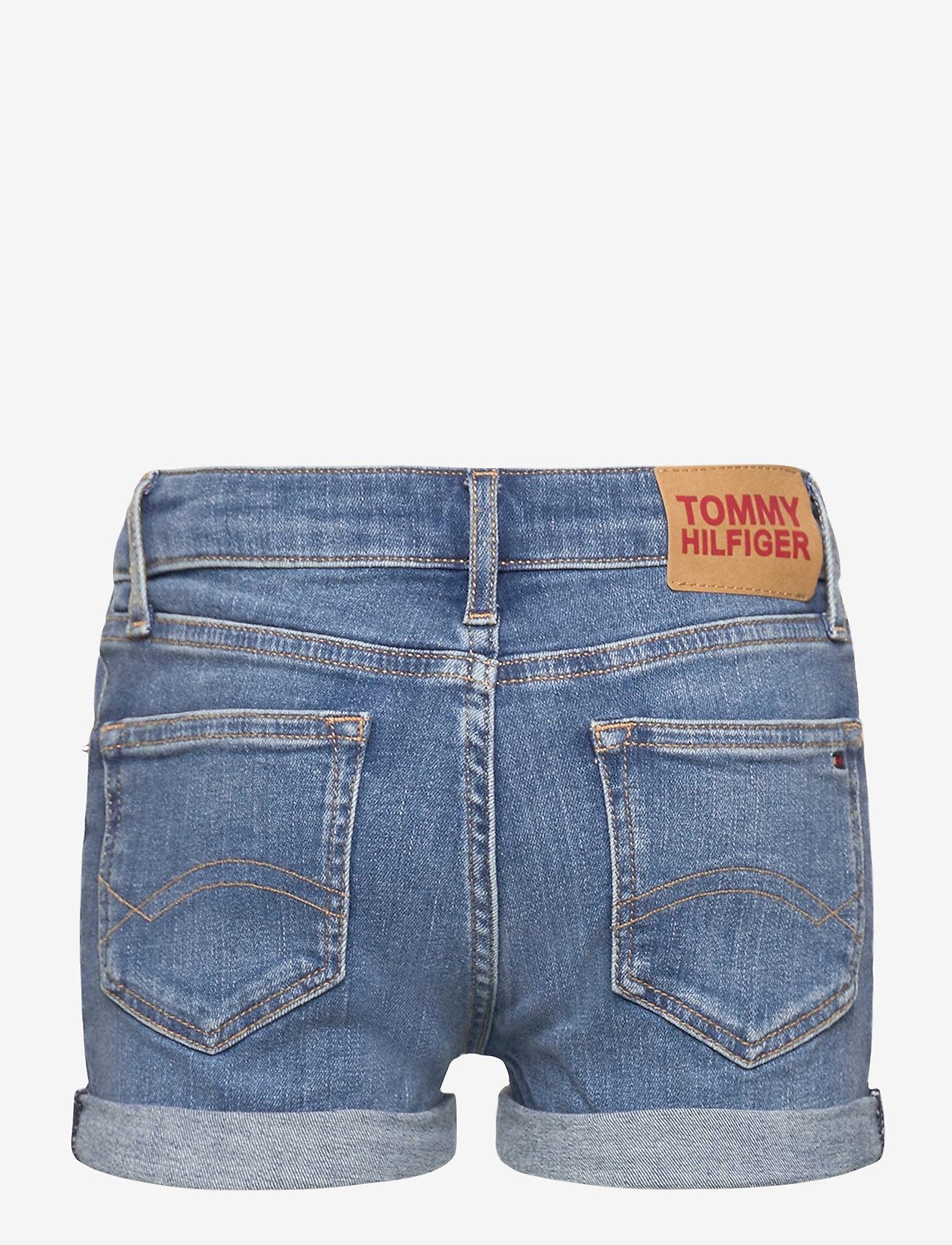 Tommy Hilfiger - NORA BASIC SHORT - shorts - summermedbluestretch - 1