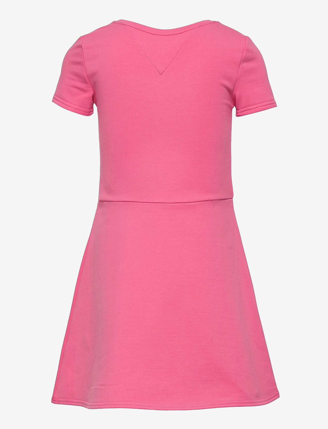 Tommy Hilfiger - ESSENTIAL  SKATER DRESS S/S - kleider - exotic pink - 1