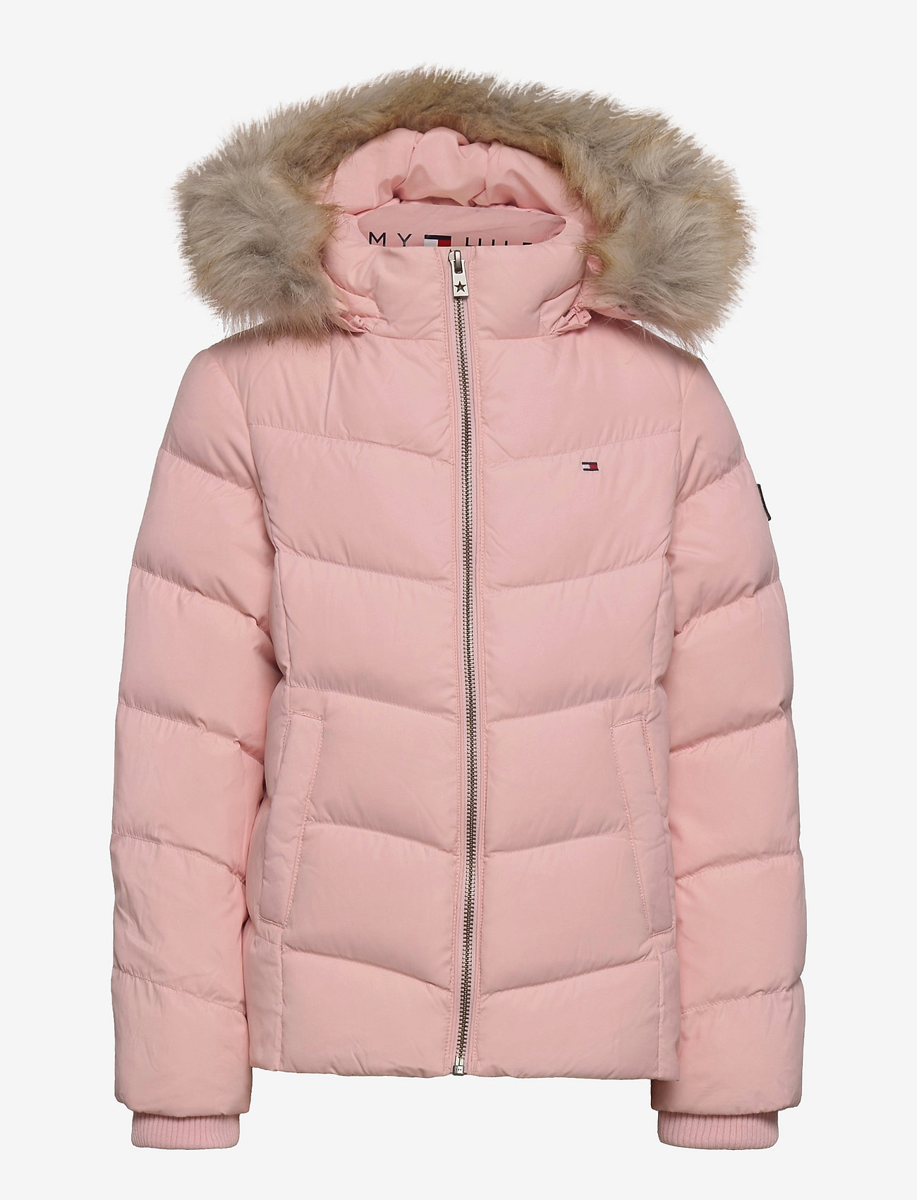 Tommy Hilfiger - ESSENTIAL DOWN JACKET - puffer & padded - delicate pink - 0