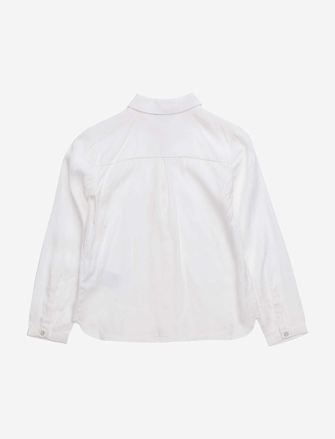 Tommy Hilfiger - STAR JACQUARD MINI TOP  L/S - shirts - white - 1