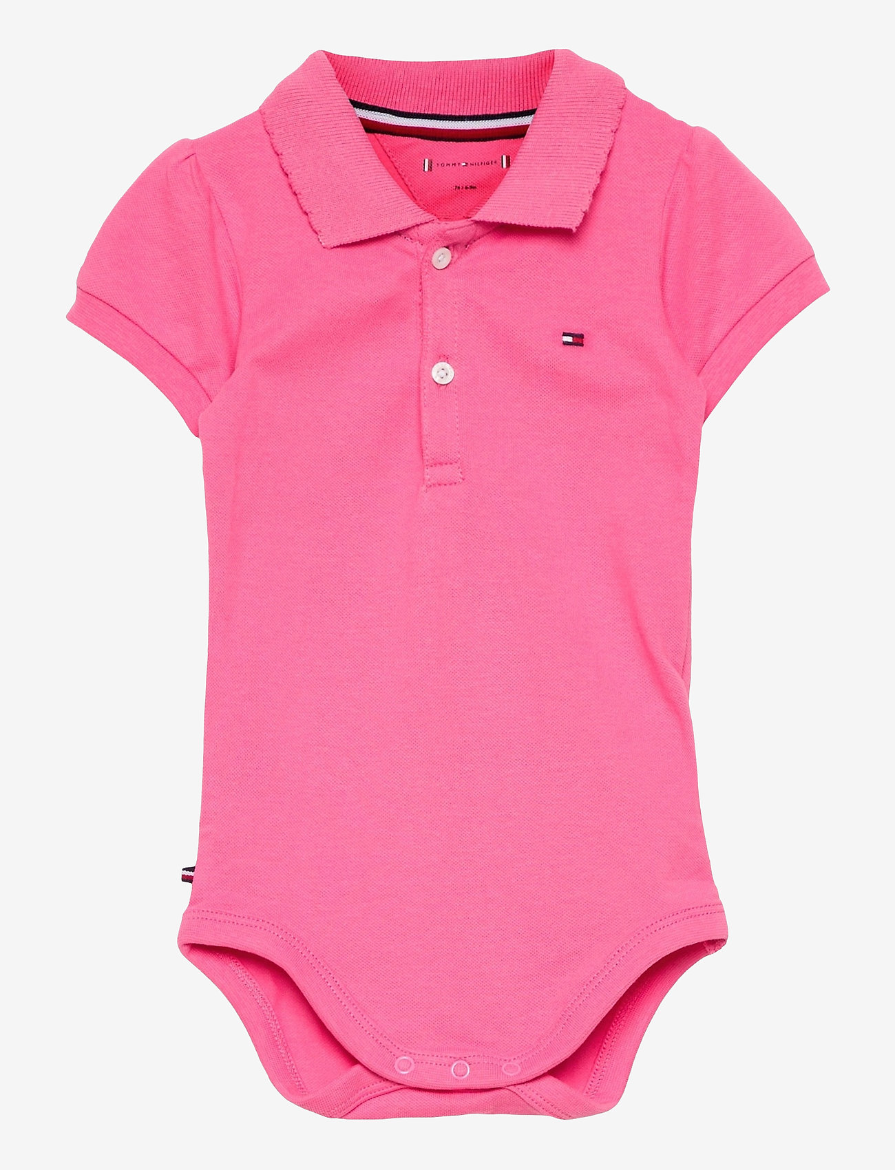 Tommy Hilfiger - BABY POLO BODY GIFTBOX - kurzärmelige - exotic pink - 0
