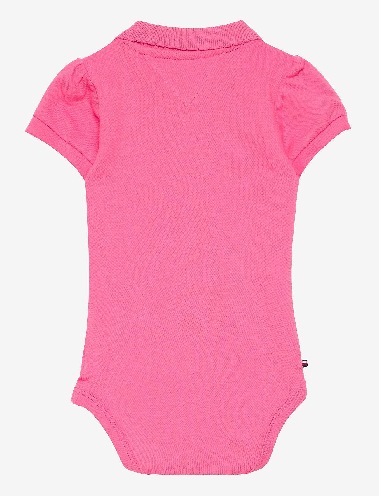 Tommy Hilfiger - BABY POLO BODY GIFTBOX - kurzärmelige - exotic pink - 1