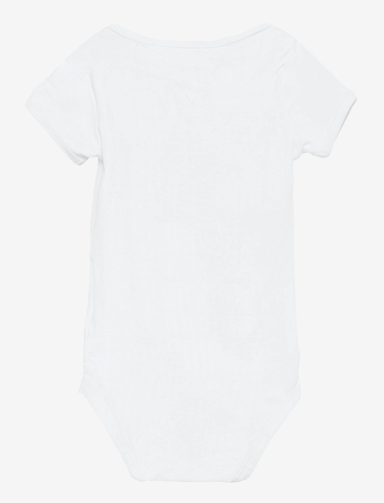 Tommy Hilfiger - BABY ESTABLISHED BODY S/S - kurzärmelige - white - 1