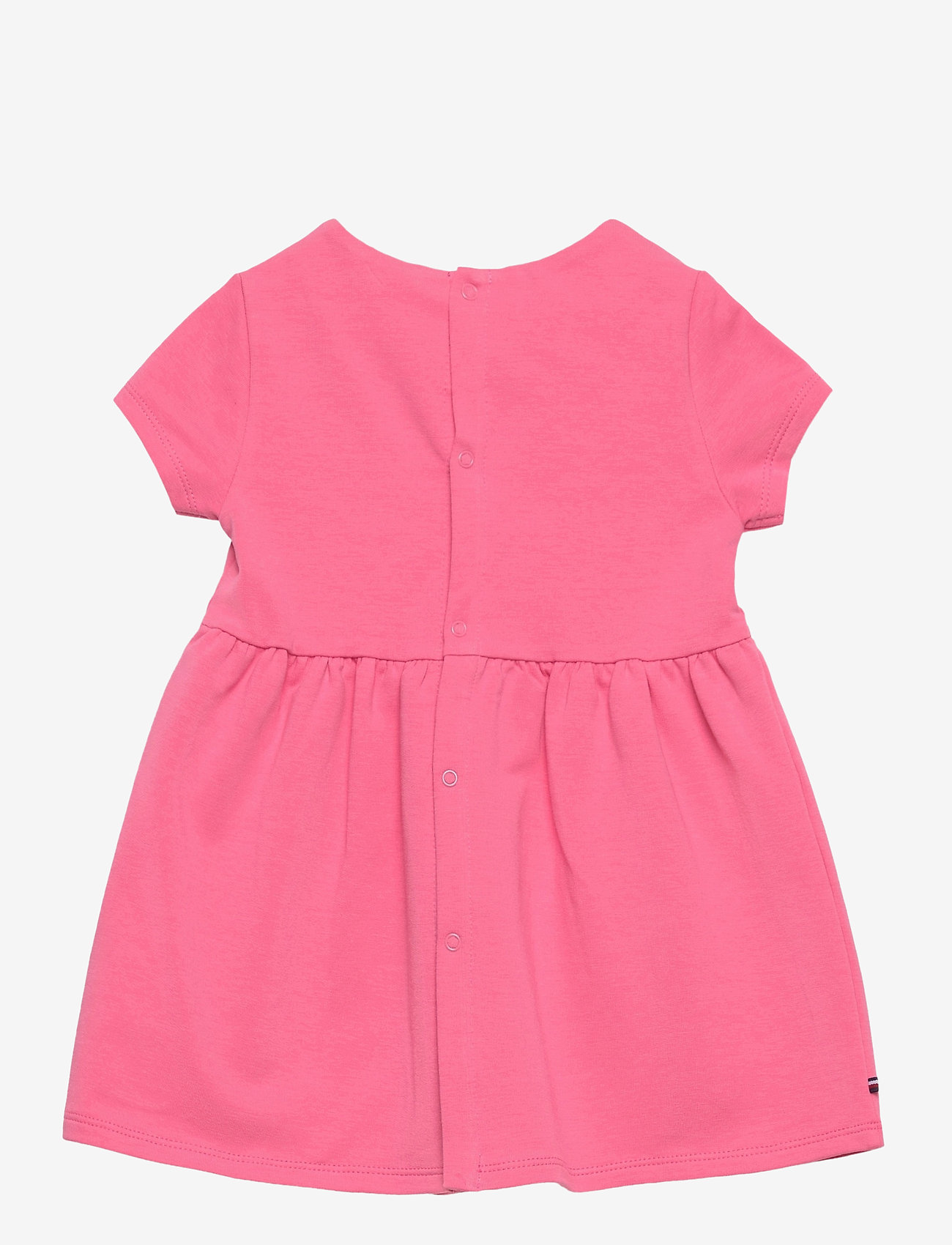 Tommy Hilfiger - BABY ESSENTIAL DRESS S/S - kleider - exotic pink - 1