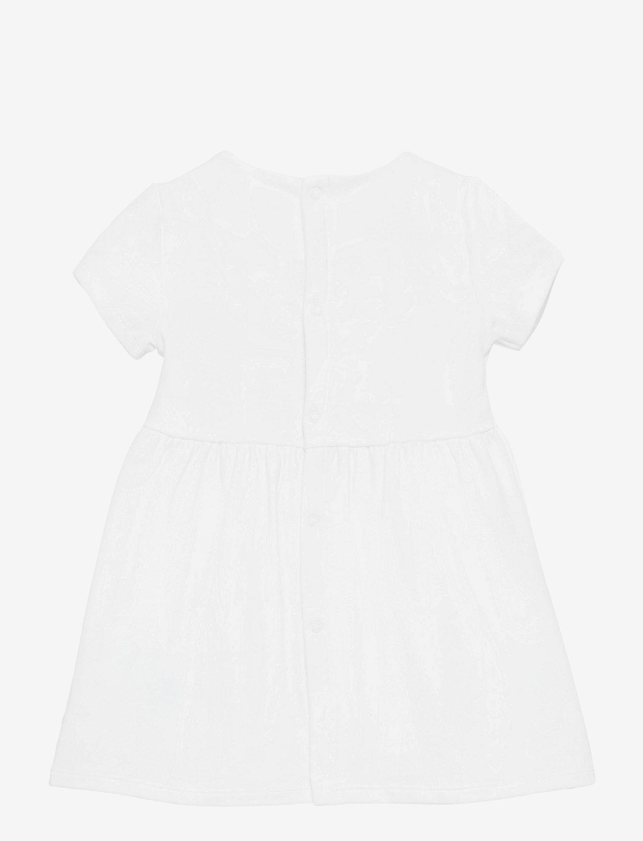 Tommy Hilfiger - BABY ESSENTIAL DRESS S/S - jurken - white - 1