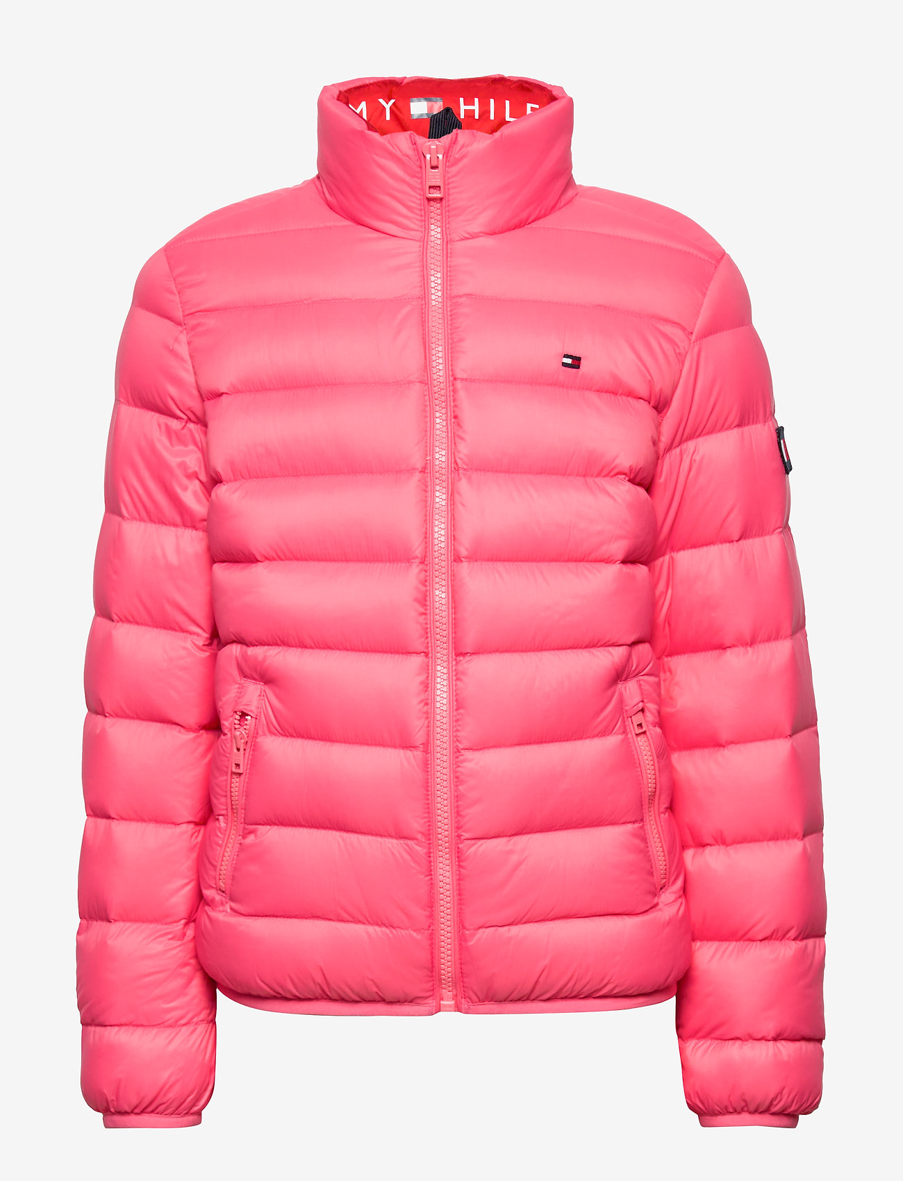 Tommy Hilfiger - U LIGHT DOWN JACKET - puffer & padded - glamour pink - 1