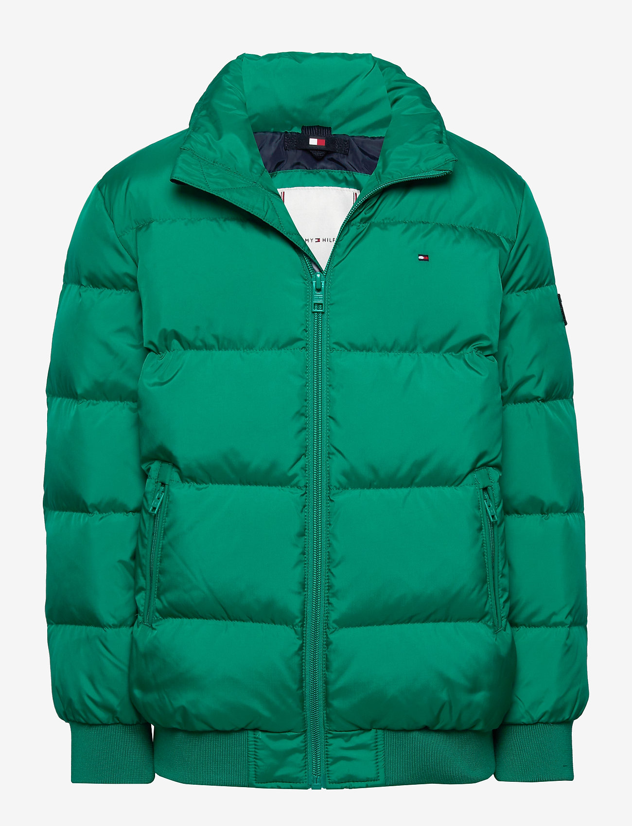 Tommy Hilfiger - U REFLECTIVE FLAG BOMBER - puffer & padded - midwest green - 0