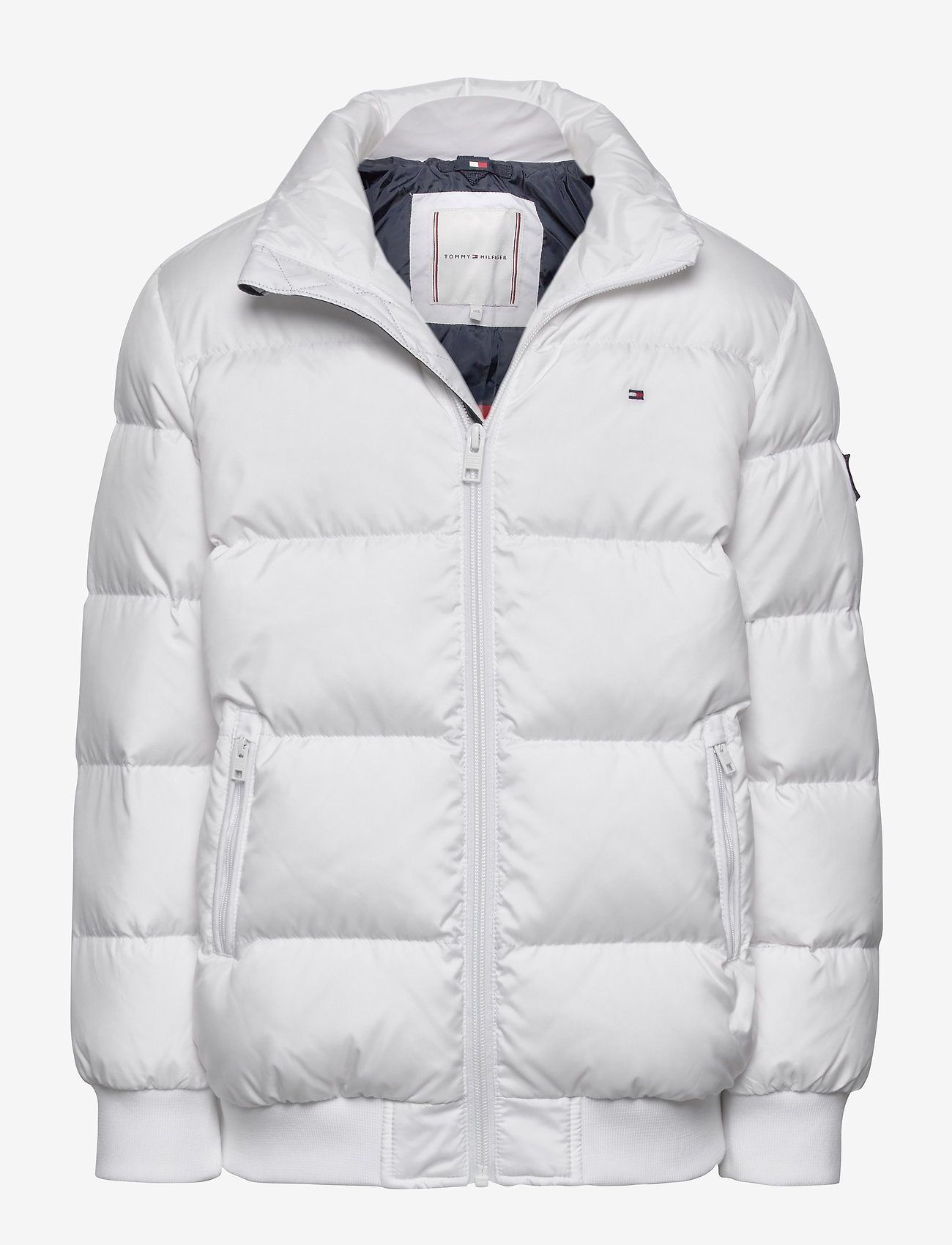 Tommy Hilfiger - U REFLECTIVE FLAG BOMBER - puffer & padded - white - 0