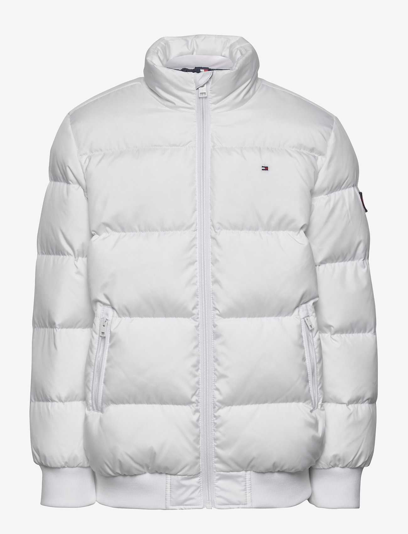 Tommy Hilfiger - U REFLECTIVE FLAG BOMBER - puffer & padded - white - 1