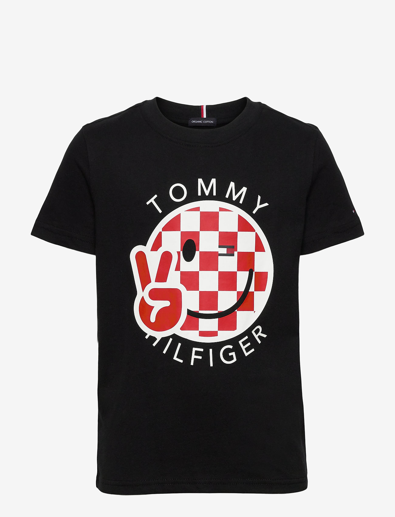 Tommy Hilfiger - U SMILE TEE 2 - short-sleeved - black - 0