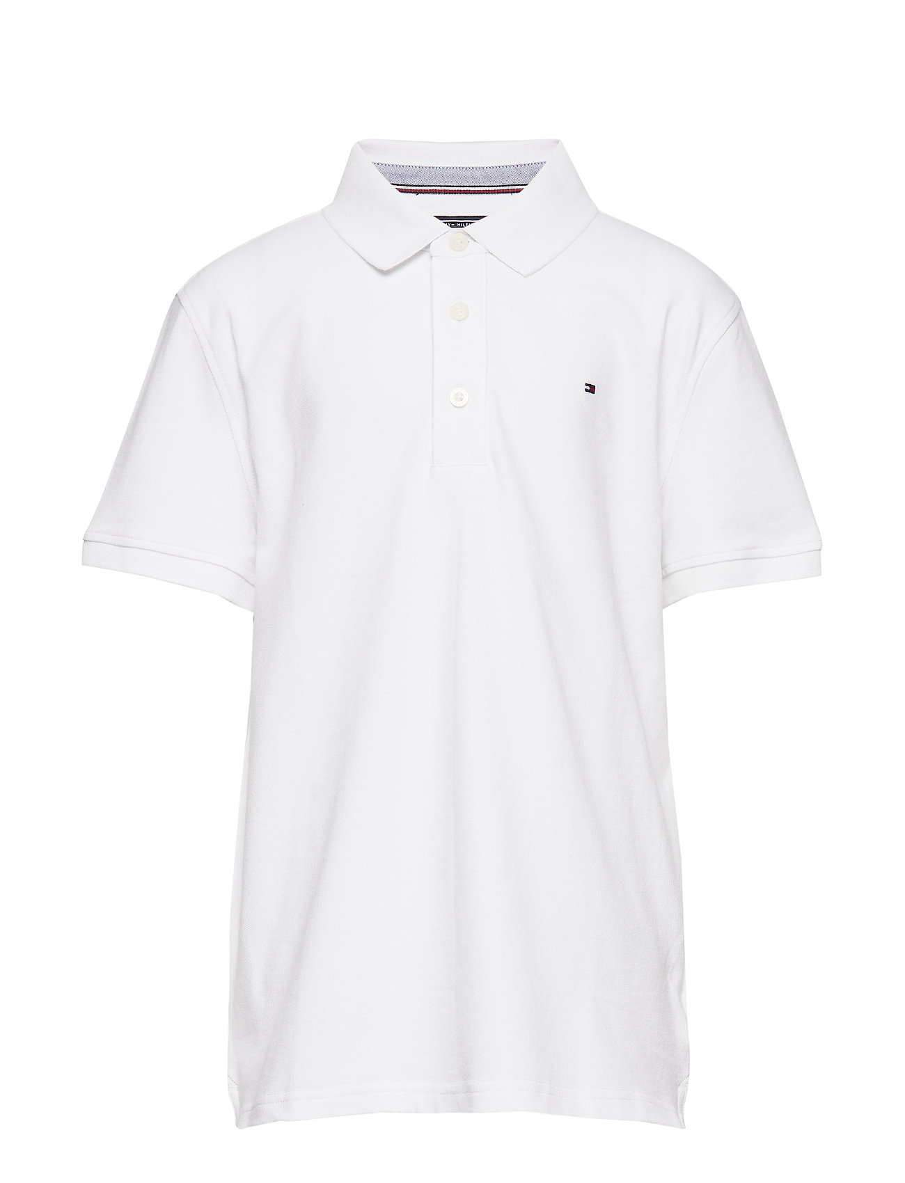 Tommy Hilfiger BOYS TOMMY POLO S/S - BRIGHT WHITE