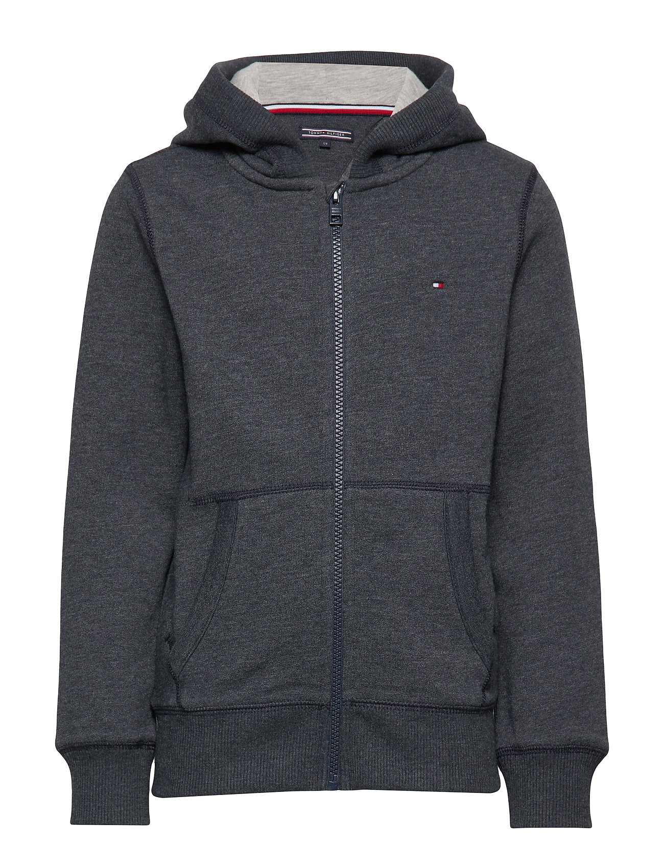 Tommy Hilfiger BOYS BASIC ZIP HOODI - SKY CAPTAIN