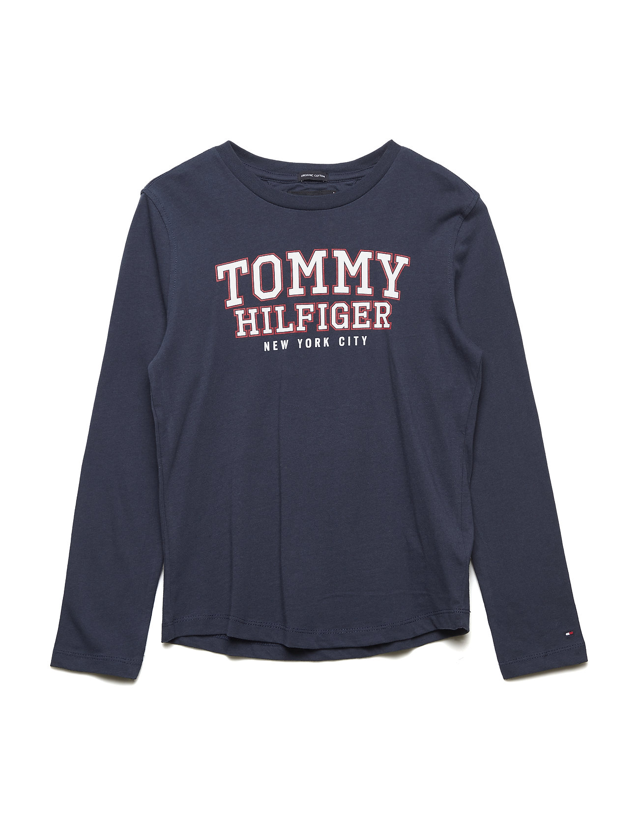 Tommy Hilfiger ESSENTIAL VARSITY LOGO TEE L/S