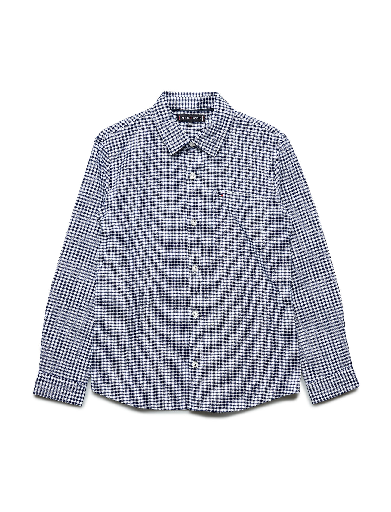 Tommy Hilfiger ESSENTIAL OXFORD GINGHAM SHIRT L/S