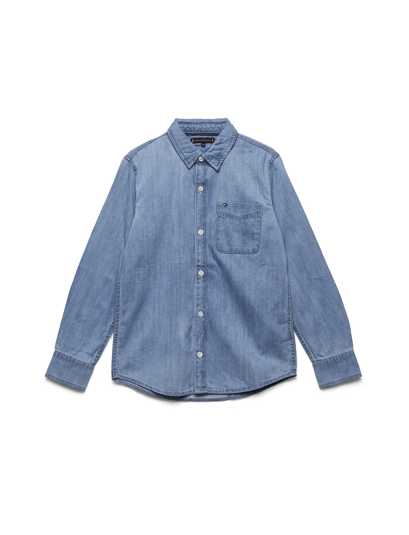 Tommy Hilfiger BOYS DENIM SHIRT REDLI L/S