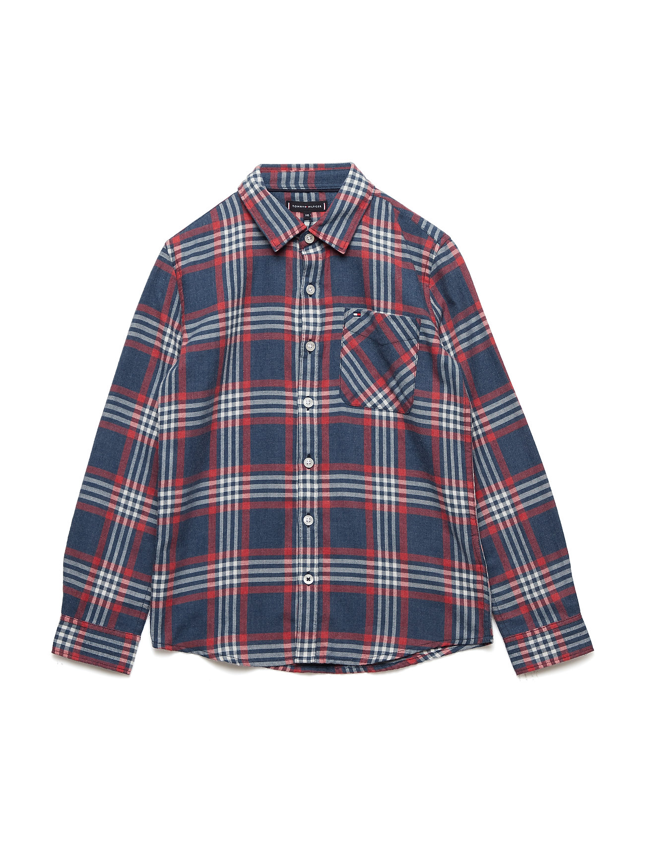 Tommy Hilfiger MULTICOLOR BRUSHED TWILL CHECK SHIRT L/S