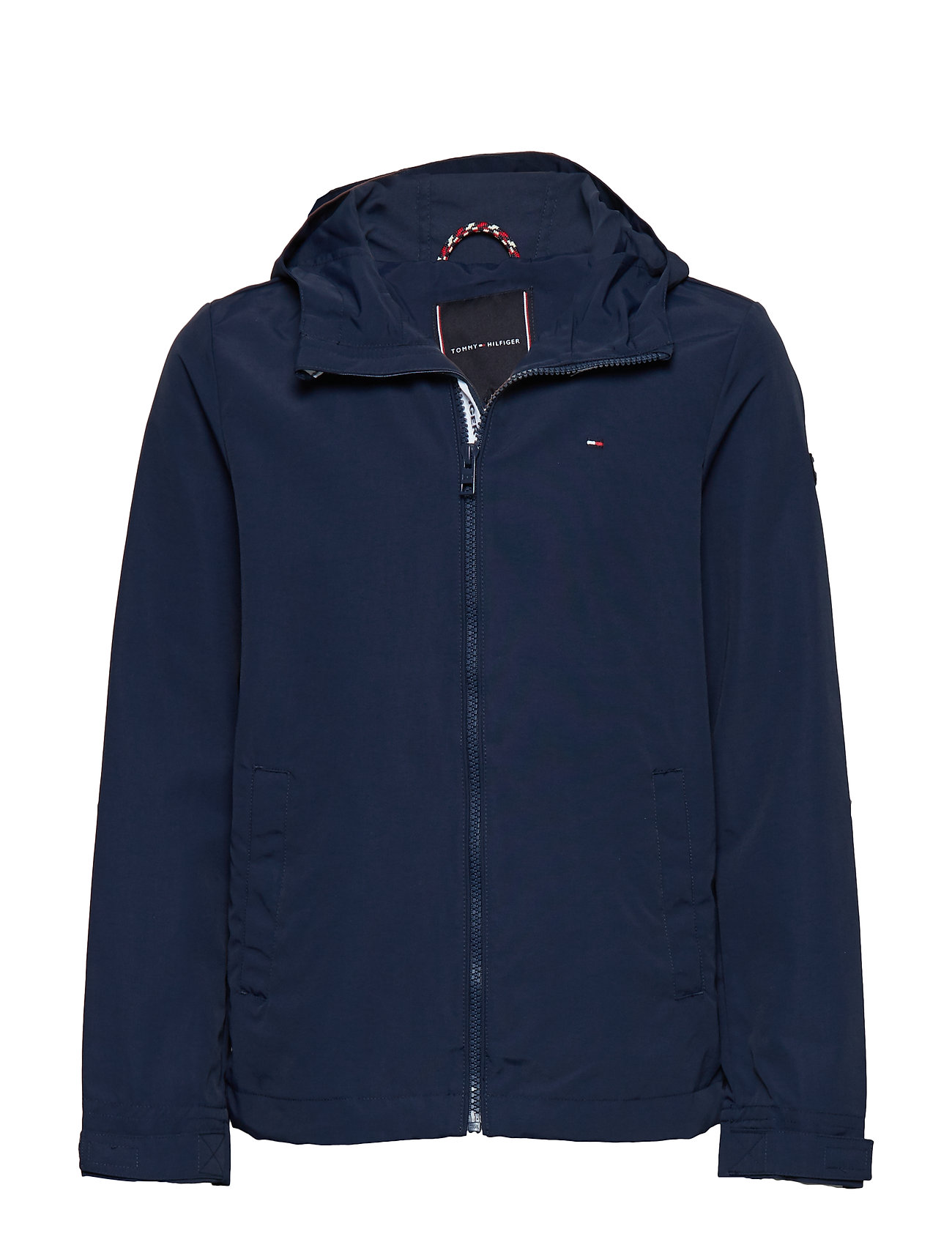 Tommy Hilfiger PACKABLE HOODED JACKET - BLACK IRIS