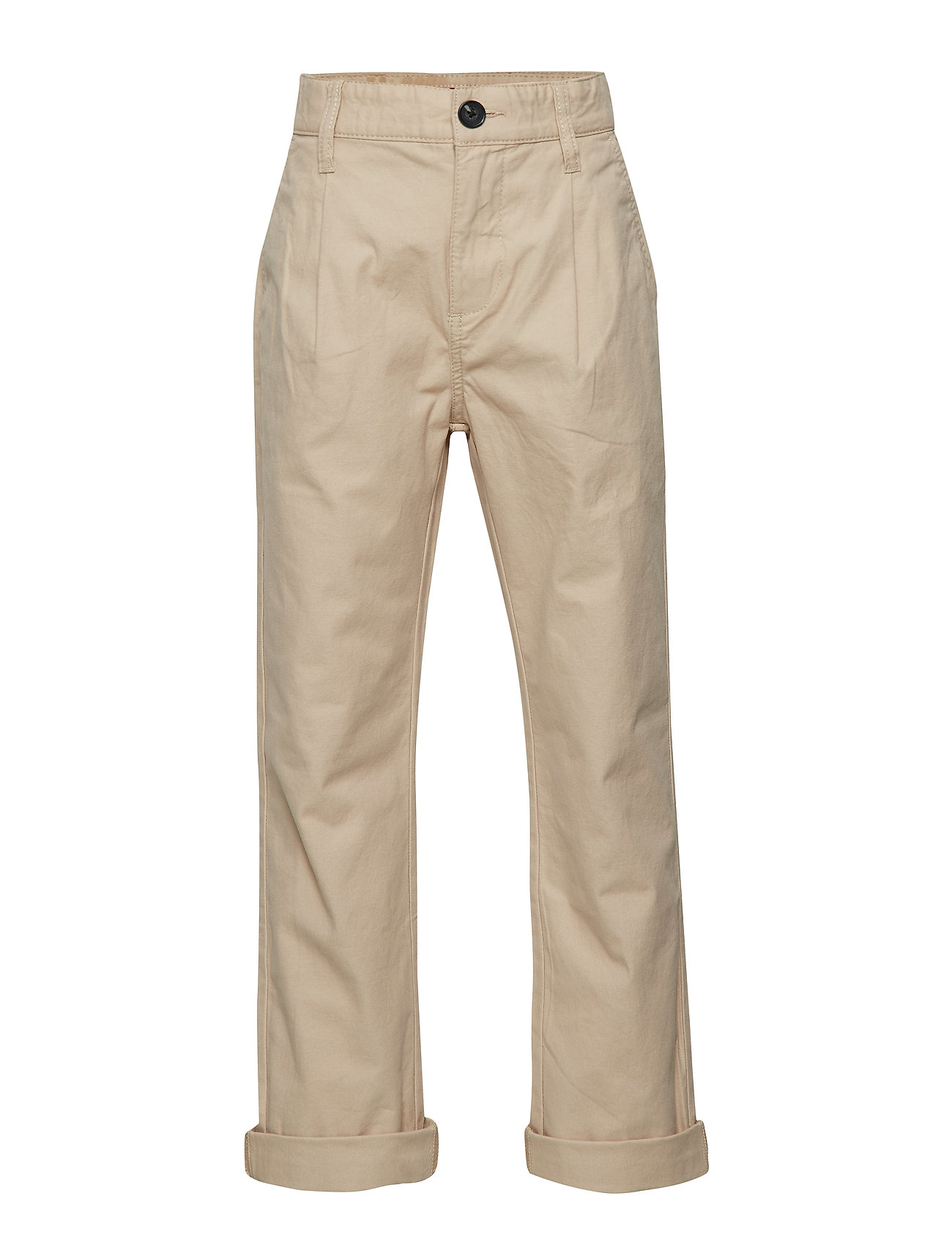 Tommy Hilfiger RECYCLED WIDE LEG CHINO - WHITE PEPPER