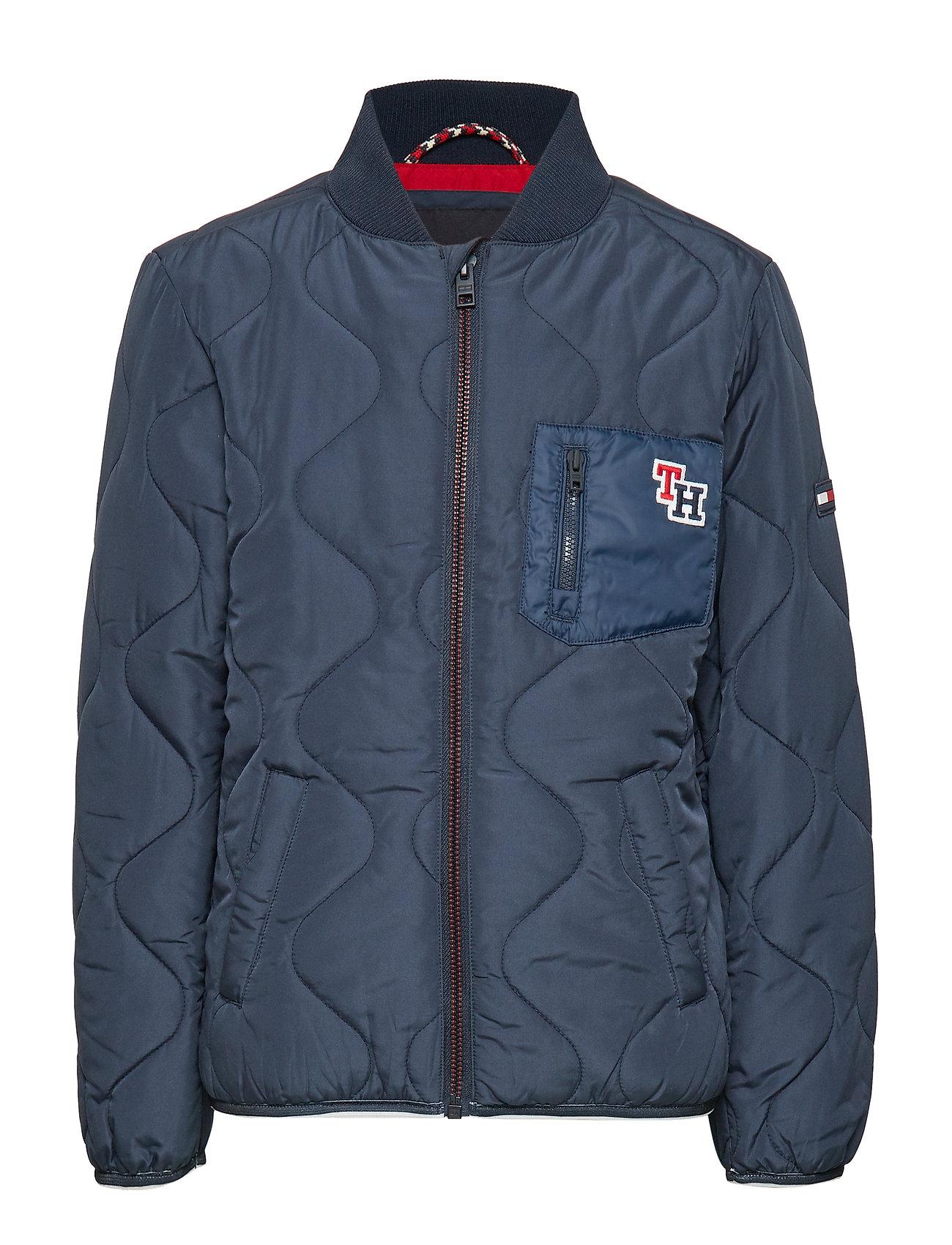 Tommy Hilfiger QUILTED JACKET - BLACK IRIS