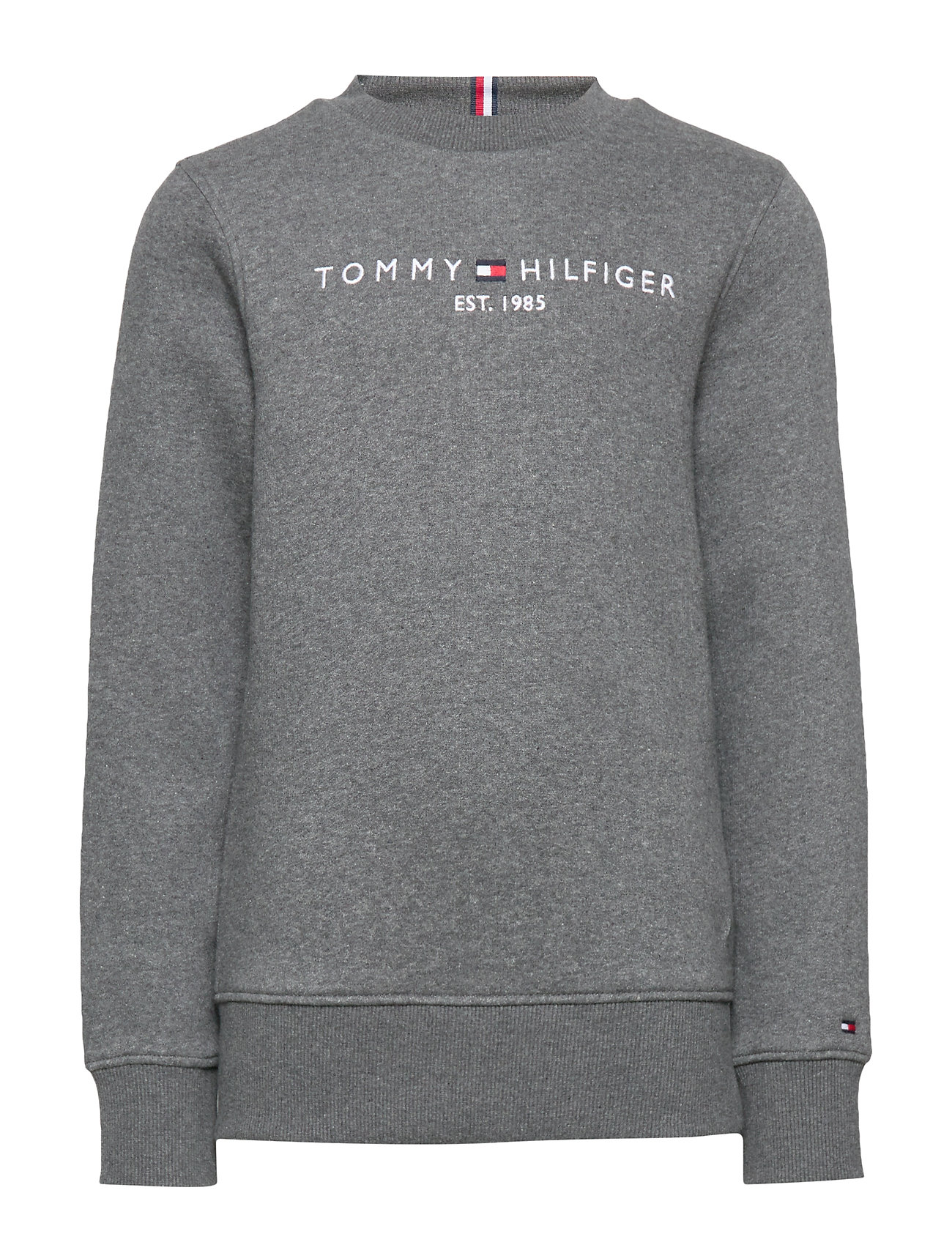 Tommy Hilfiger ESSENTIAL CN SWEATSHIRT SET 1 - CHARCOAL HEATHER