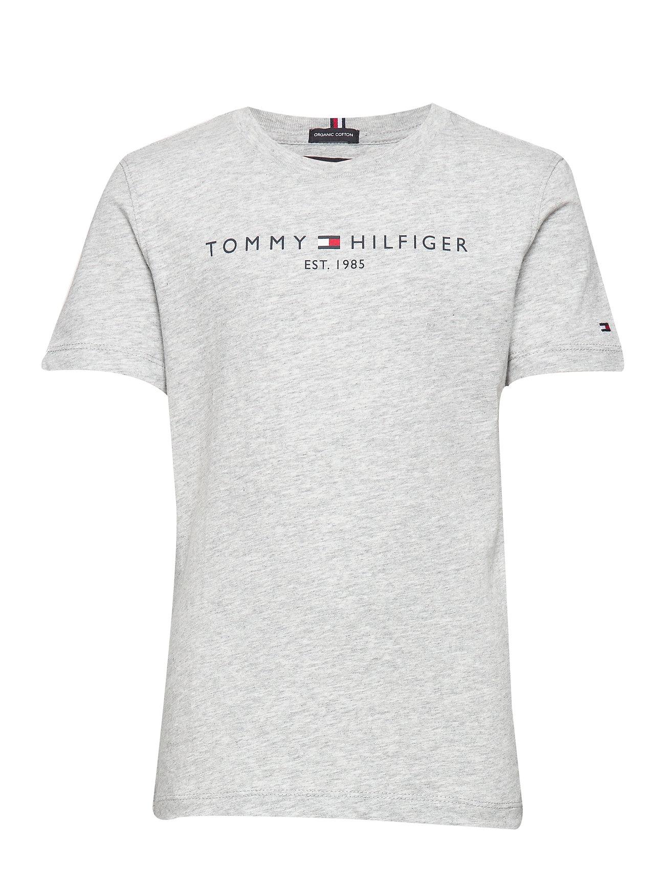 Tommy Hilfiger ESSENTIAL HILFIGER T - GREY HTR