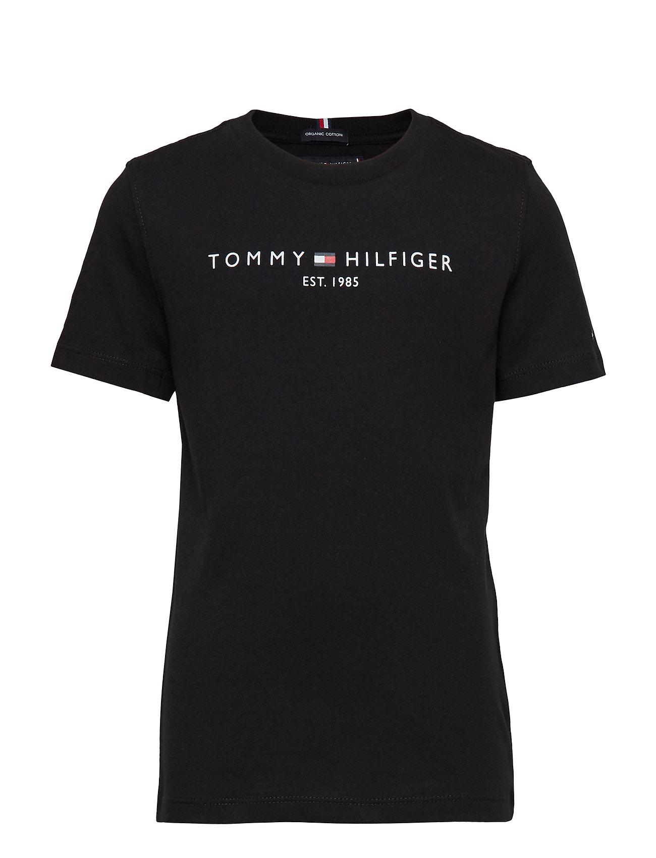 Tommy Hilfiger ESSENTIAL HILFIGER T - TOMMY BLACK