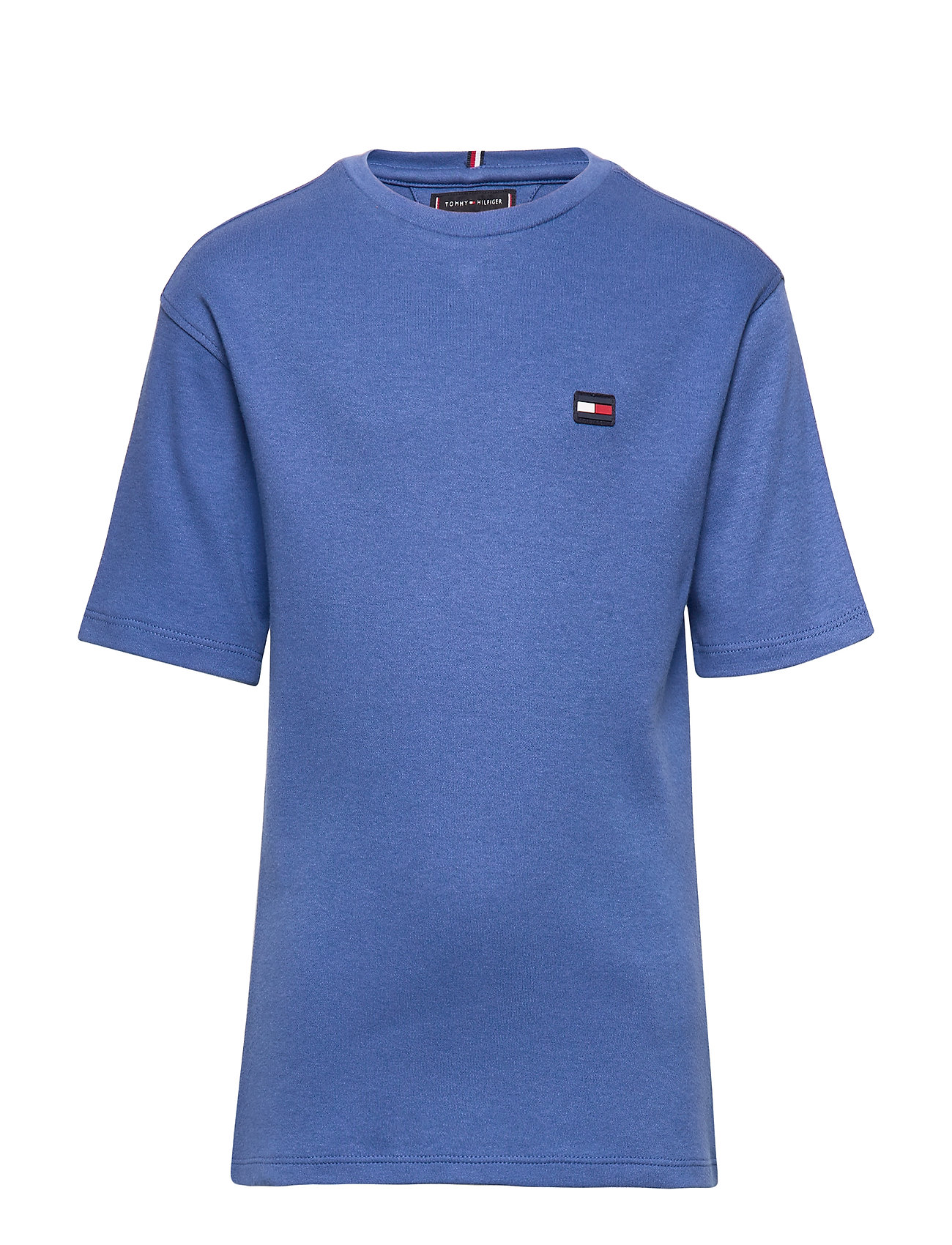 Tommy Hilfiger GAME ON PRINT TEE S/ - DUTCH BLUE
