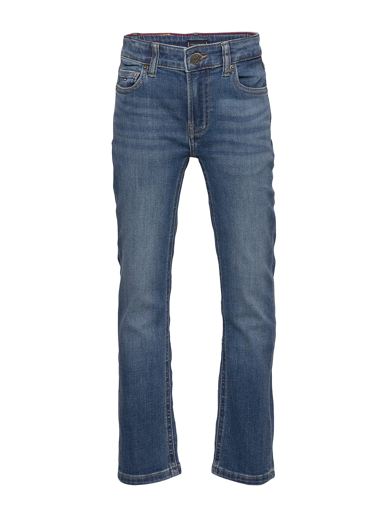 Tommy Hilfiger 1985 STRAIGHT OCMBST - OCEAN MID BLUE STRETCH