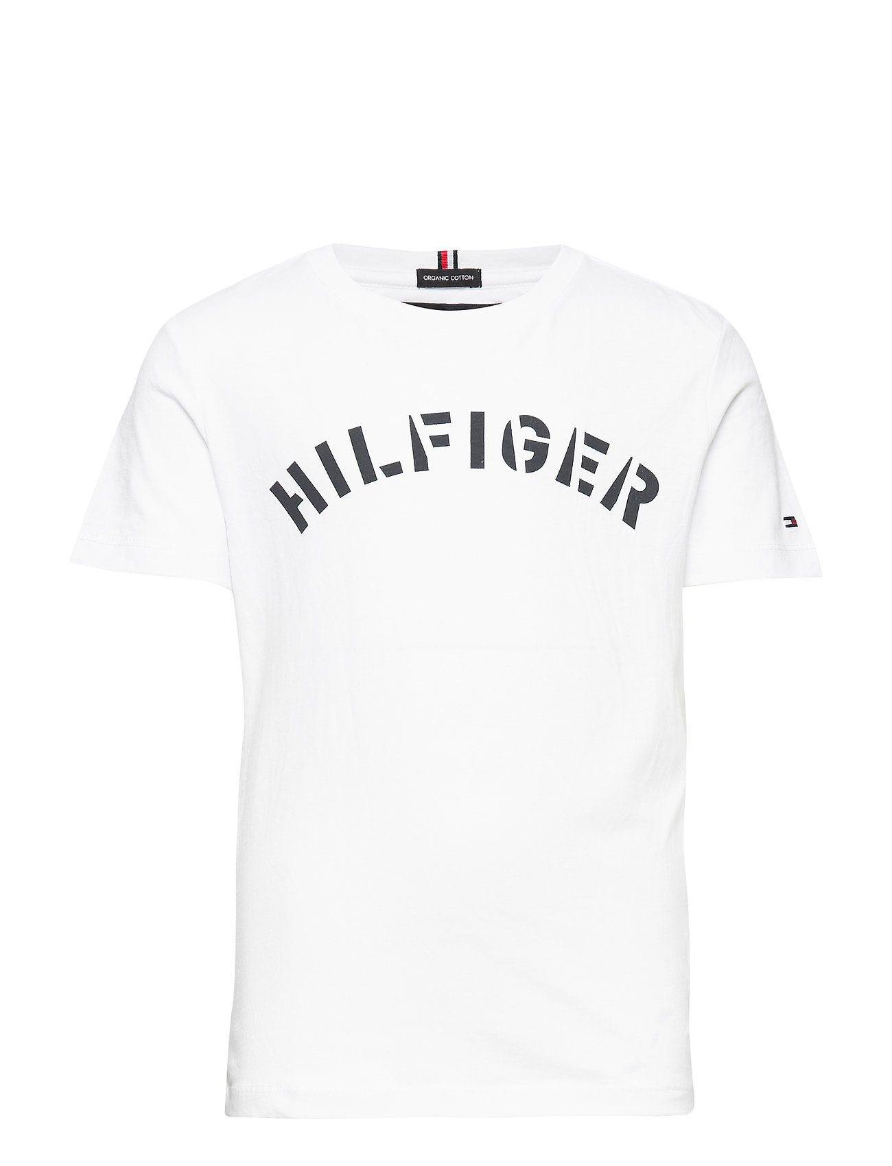 Tommy Hilfiger ESSENTIAL TOMMY GRAPHIC TEE S/S - BRIGHT WHITE