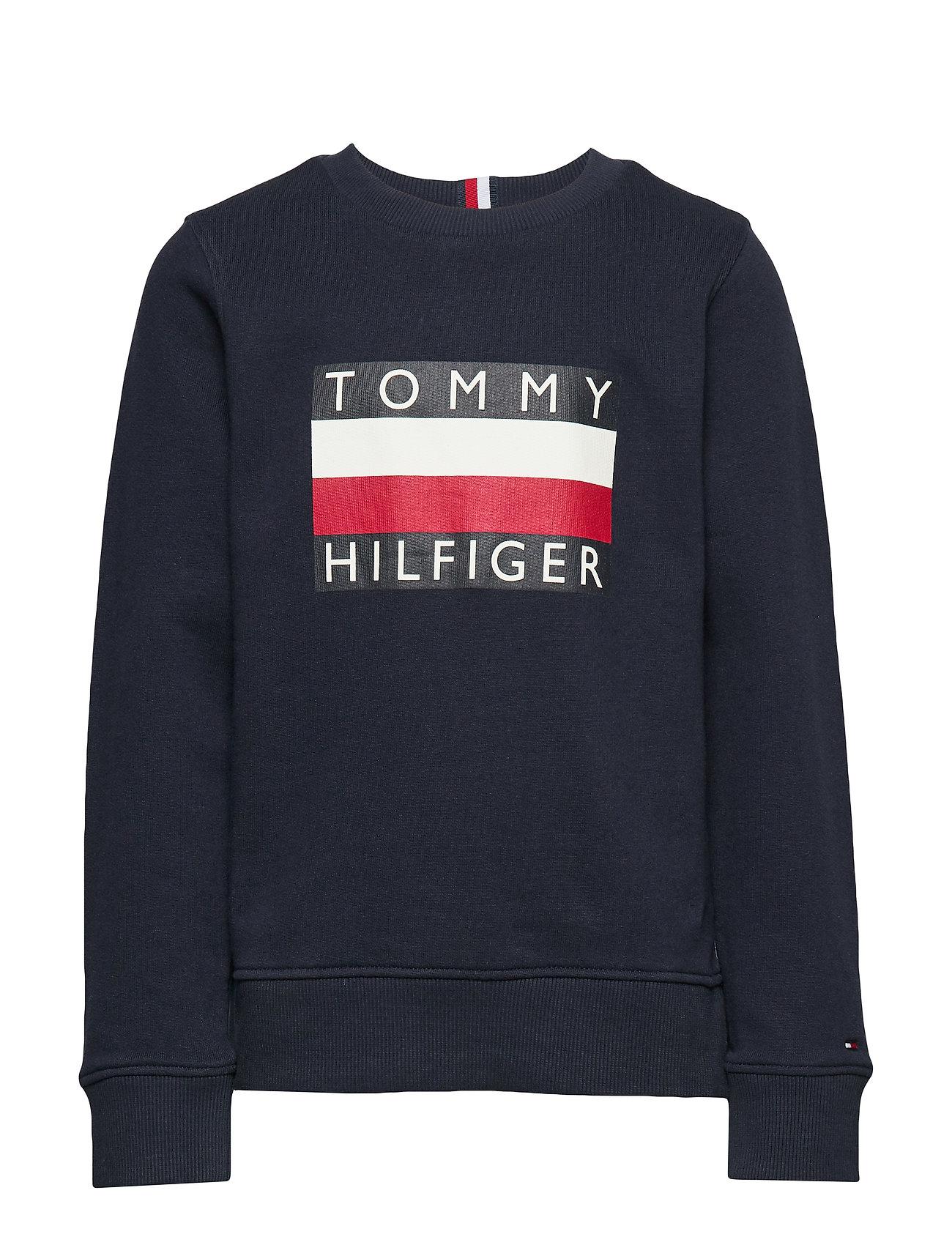Tommy Hilfiger ESSENTIAL HILFIGER SWEATSHIRT - BLACK IRIS