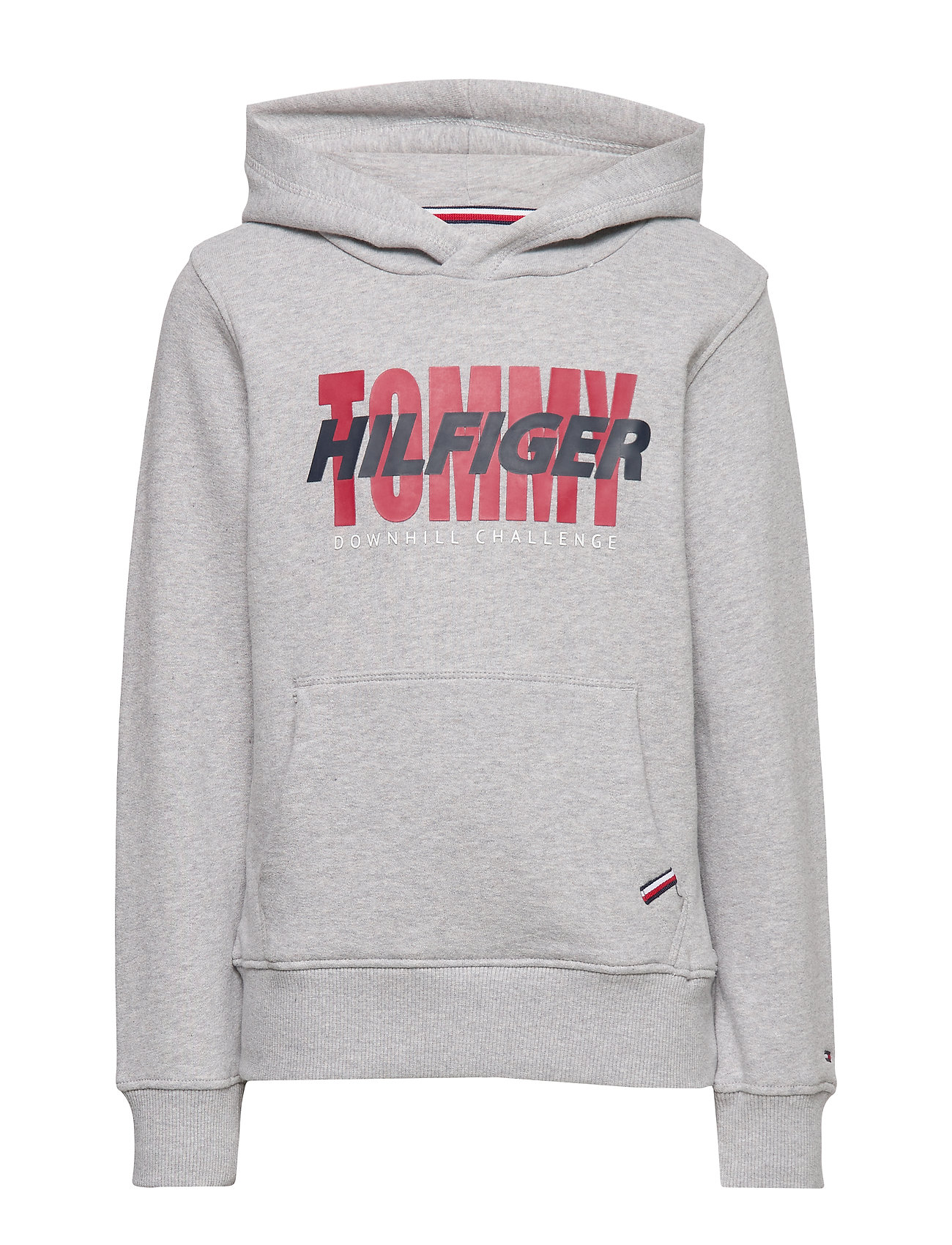 Tommy Hilfiger ARTWORK HOODIE - GREY HEATHER