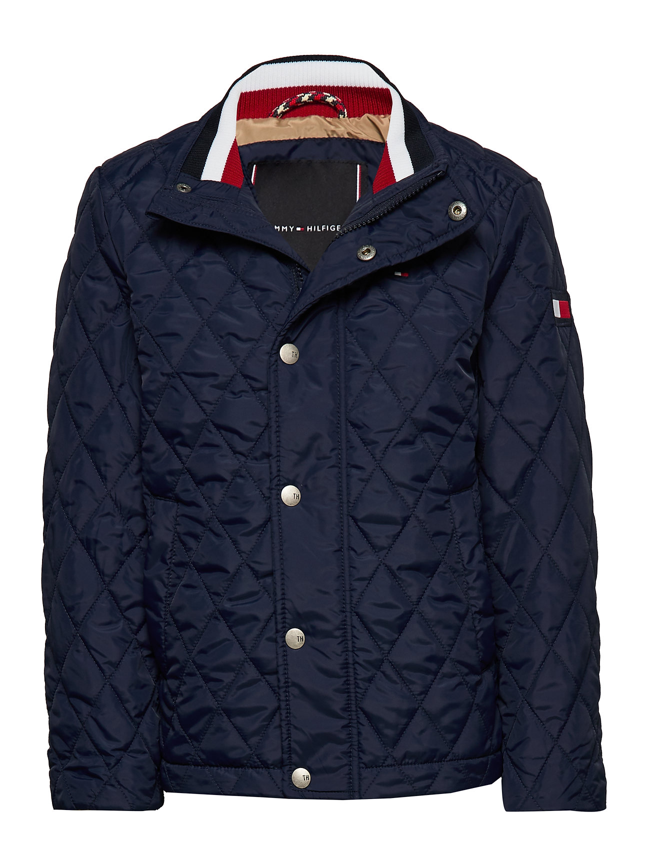 Tommy Hilfiger CLASSIC QUILTED JACKET - BLACK IRIS