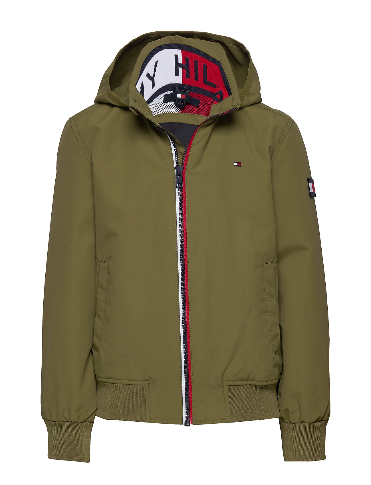 Tommy Hilfiger ESSENTIAL JACKET - UNIFORM OLIVE