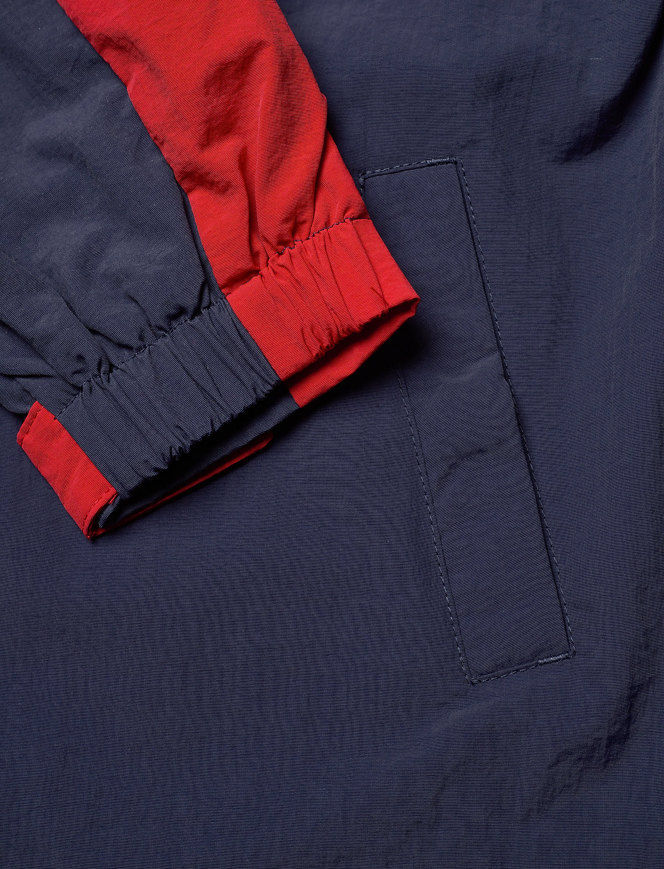 Tommy Hilfiger Colorblock Popover - Jackor Twilight Navy / Deep Crimson