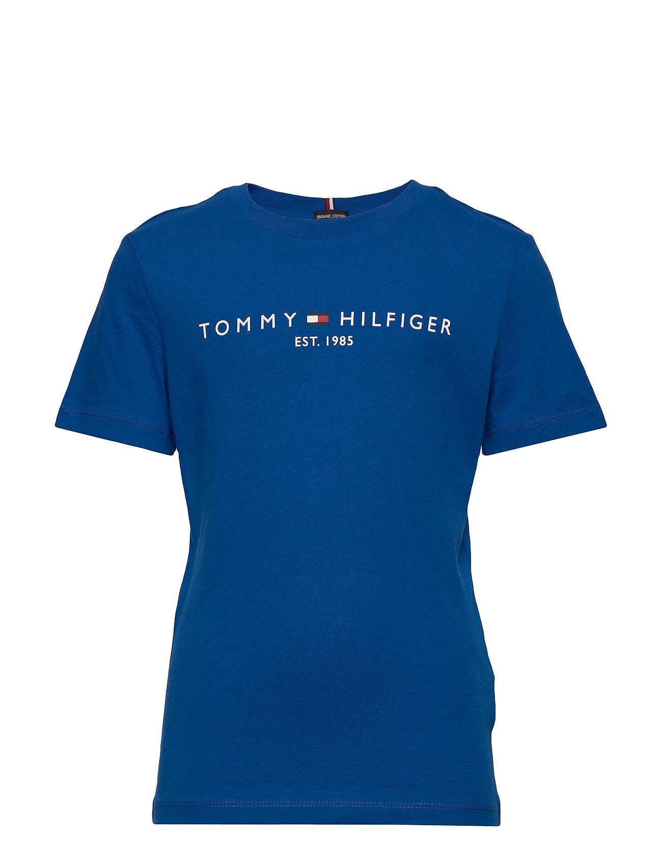 Tommy Hilfiger ESSENTIAL TEE S/S - LAPIS LAZULI 431-880