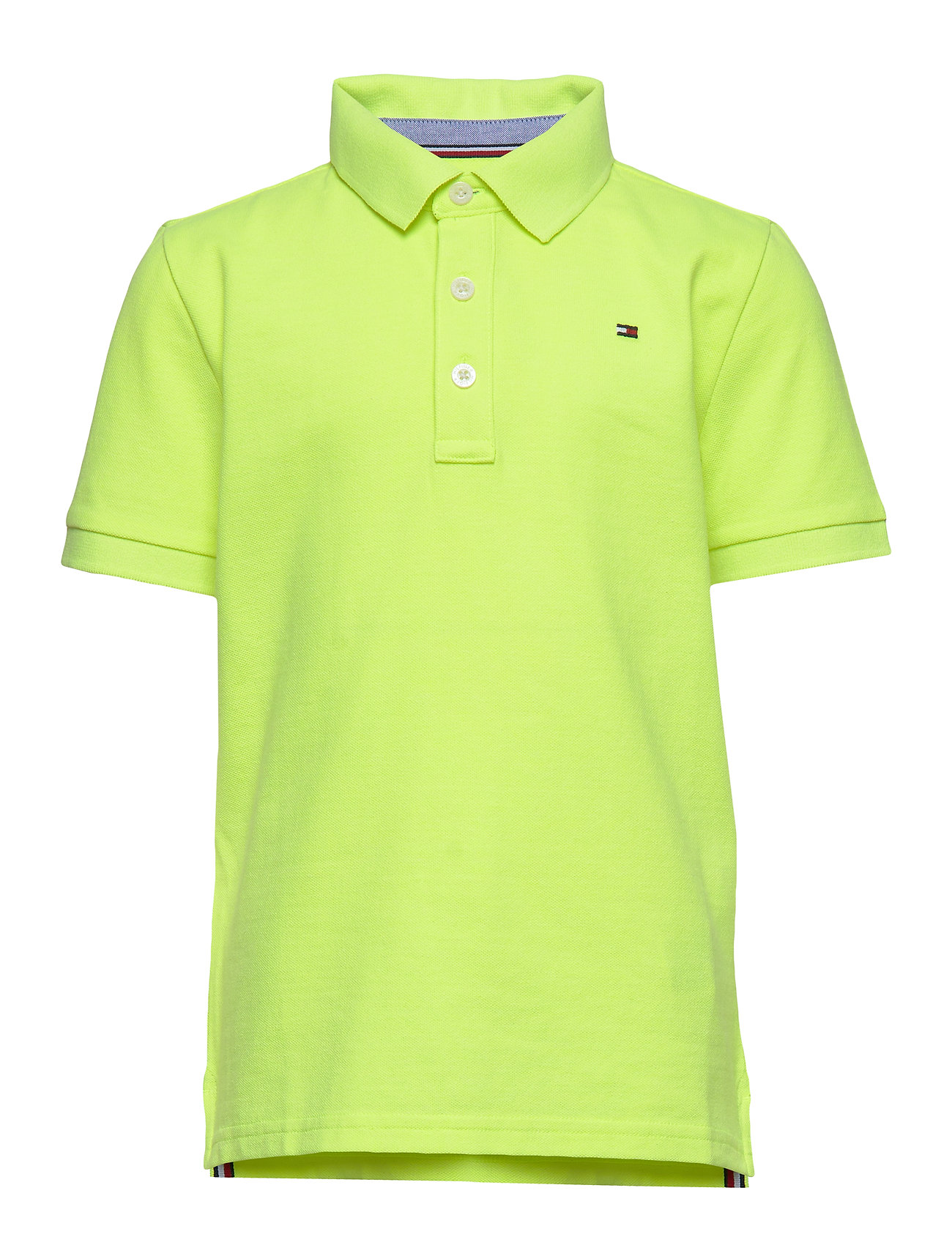 Tommy Hilfiger ESSENTIAL TOMMY REG POLO S/S - SAFETY YELLOW 13-0630