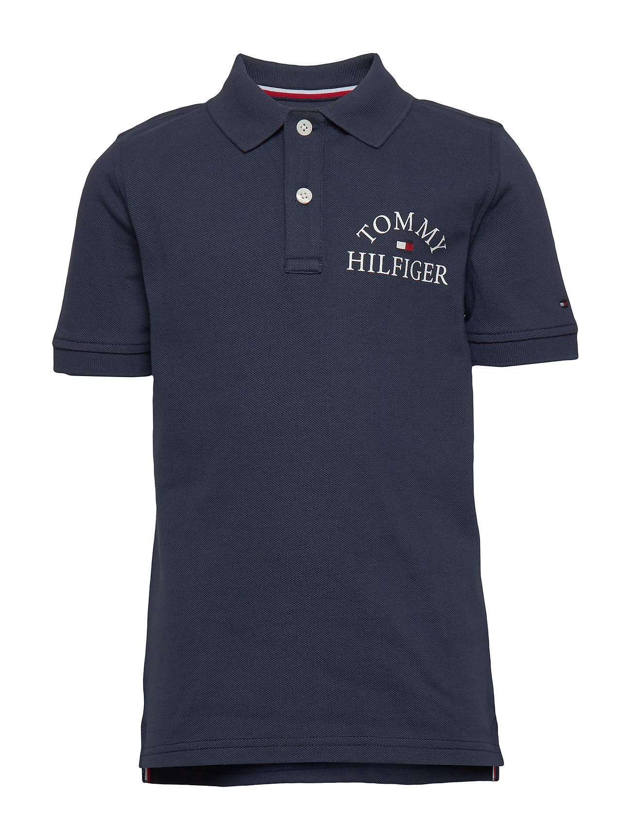 Tommy Hilfiger ESSENTIAL LOGO CHEST POLO S/S - TWILIGHT NAVY 654-860
