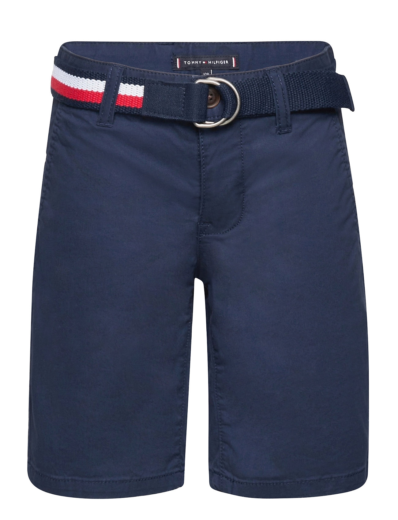 Image of Essential Belted Chino Shorts Shorts Blå Tommy Hilfiger (3501576315)