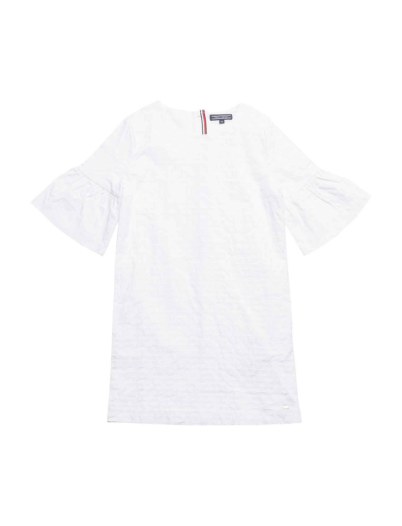 1406aa47096 C Shift Dress S s (Bright White) (560 kr) - Tommy Hilfiger -