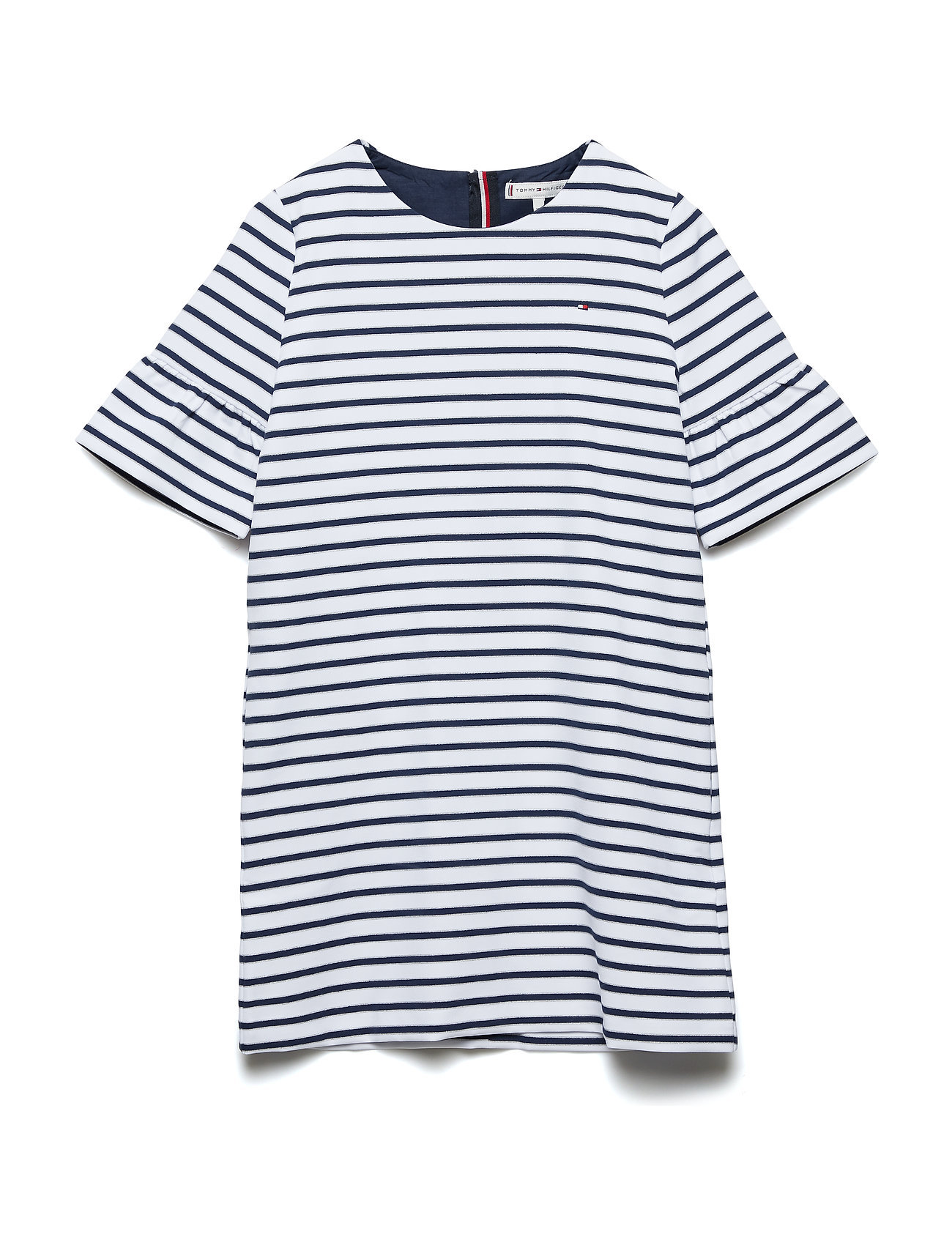 Tommy Hilfiger ESSENTIAL STRIPE SHI - BLACK IRIS/BRIGHT WHITE