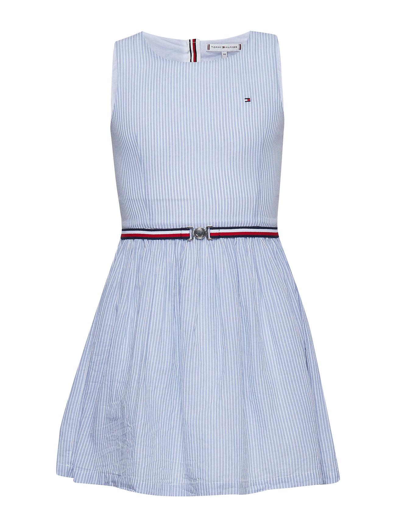 e9205f6963b BRIGHT WHITE Tommy Hilfiger Enchanting Stripe Dr kjoler for børn ...