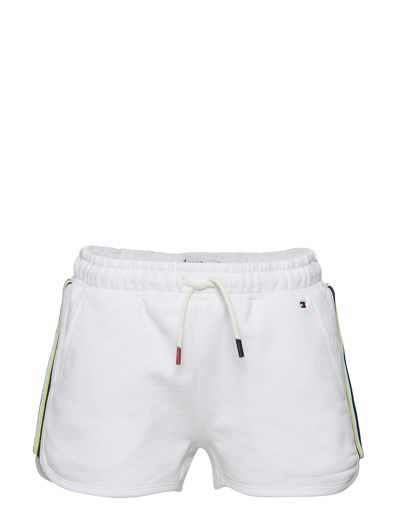 Tommy Hilfiger KNITTED TAPE SPORTS SHORTS - BRIGHT WHITE