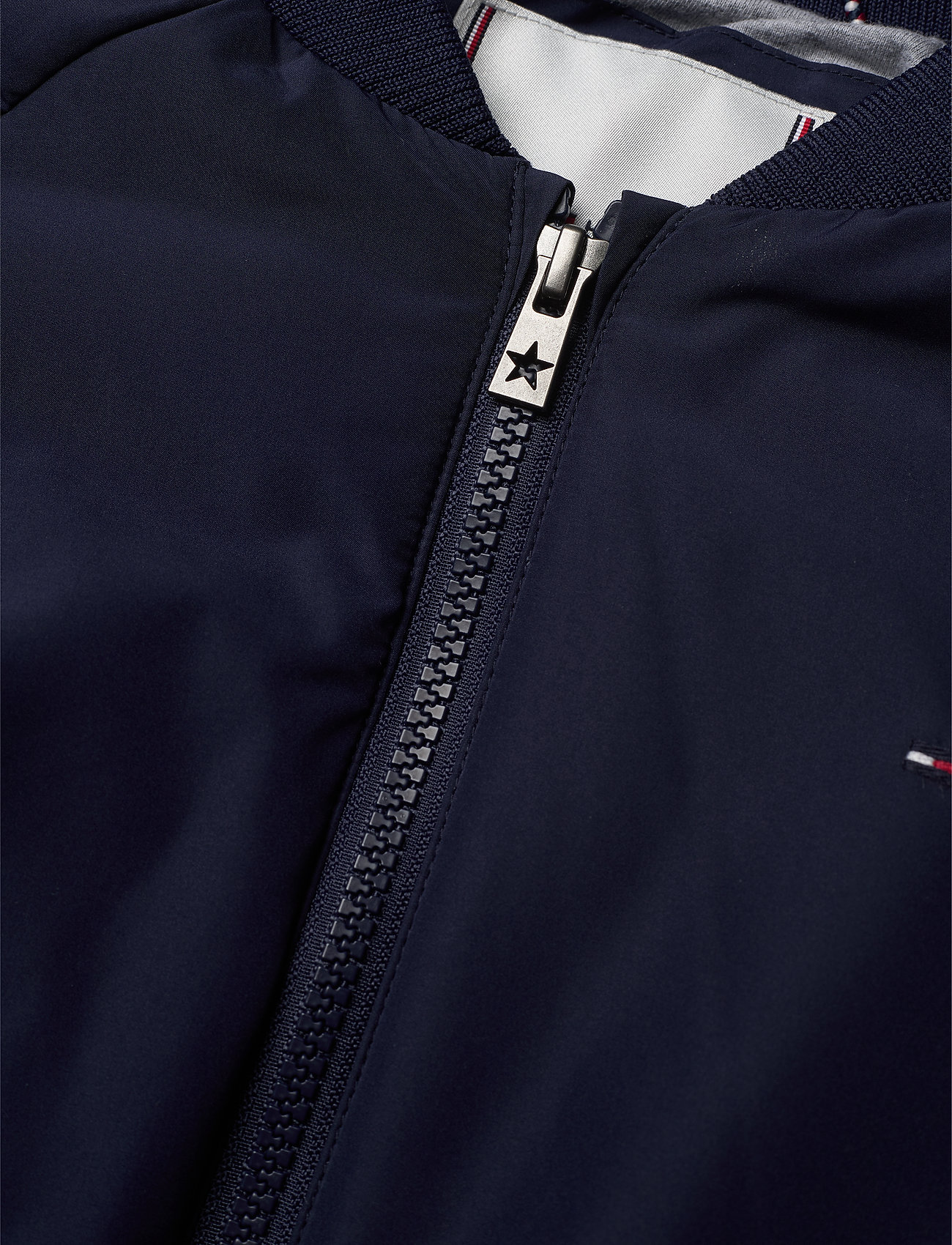 Tommy Hilfiger - ESSENTIAL TOMMY TAPE JACKET - bomber jackets - black iris - 0
