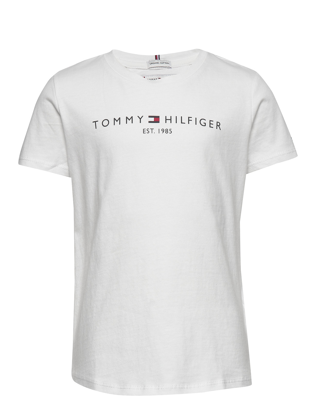 Tommy Hilfiger ESSENTIAL  TEE S/S - WHITE