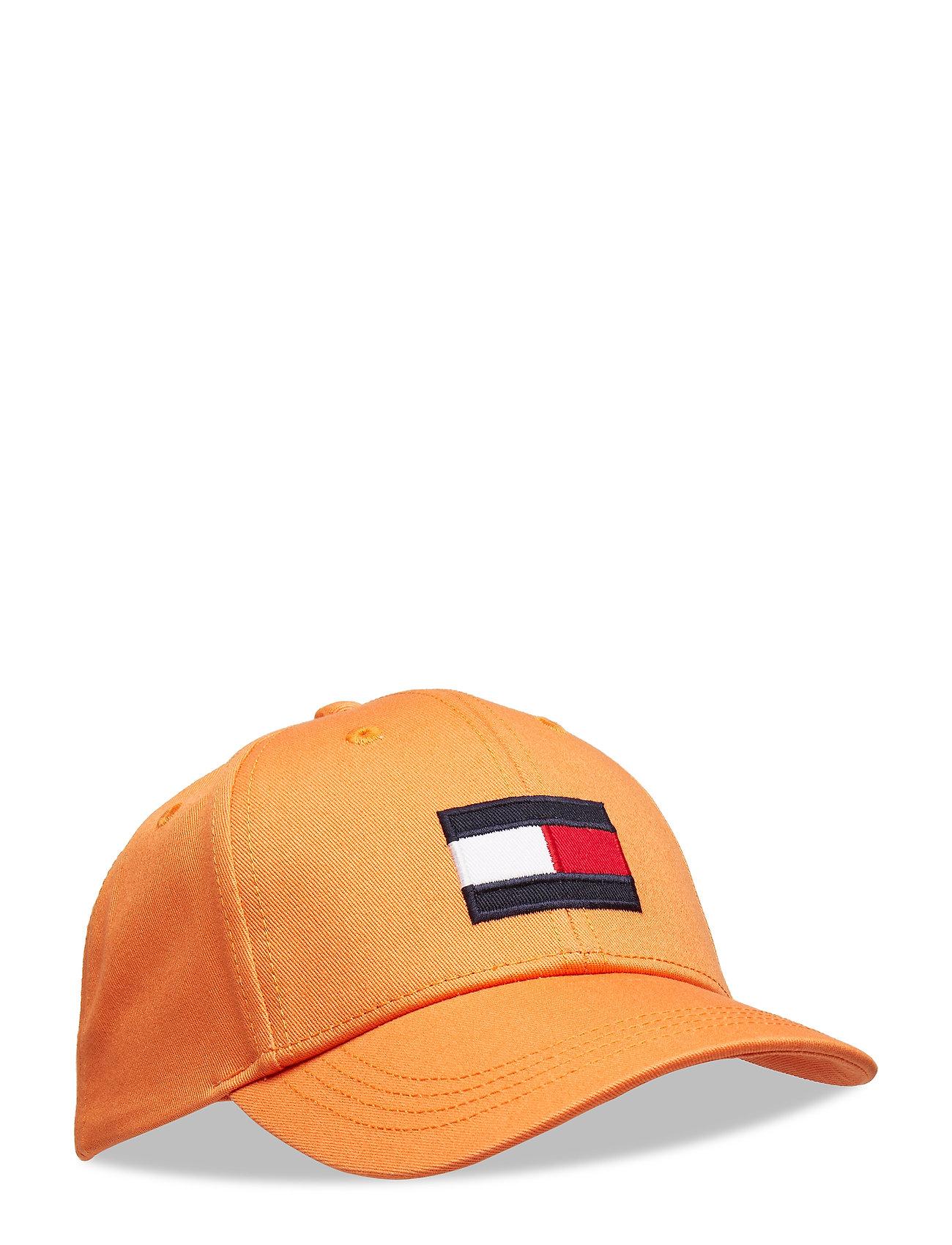 Tommy Hilfiger BIG FLAG CAP - RUSSET ORANGE